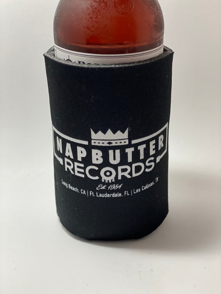 Napbutter Records Beer Koozie