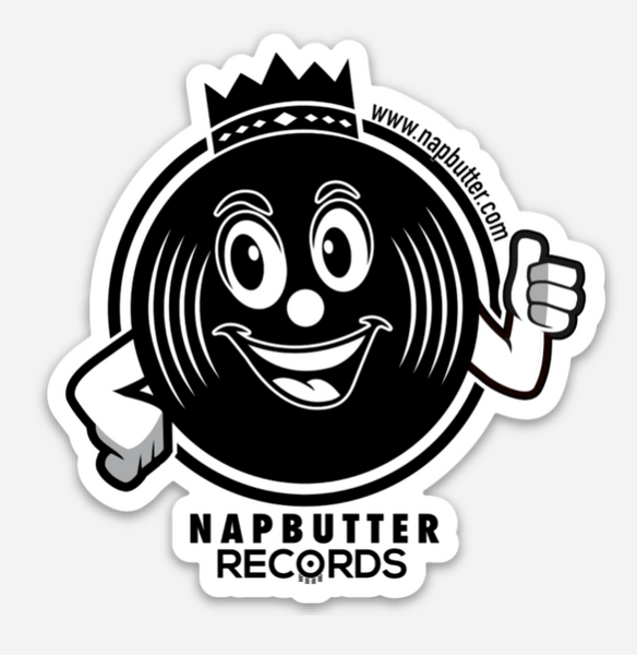 Napbutter Records Icon Sticker