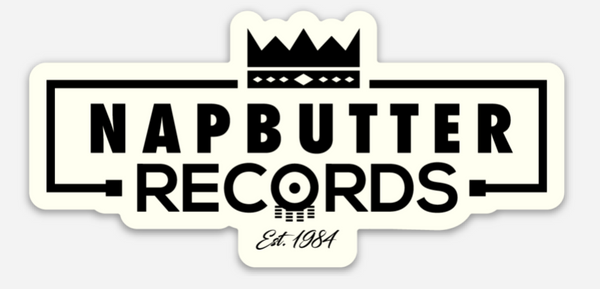 Napbutter Records Logo Sticker