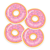 Donut Die Cut Name Labels