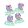Owl Die Cut Name Labels