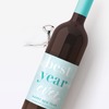 Best Year Ever Wine Labels