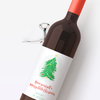 Christmas Wishes Wine Labels