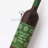 Holiday Sweater Wine Labels
