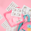 Unicorn Kiddie Label Pack (54 labels)