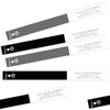 Monochrome Wrap Around Return Address Labels