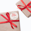 Retro Christmas Lights Gift Labels