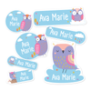 Owl Themed Daycare/Preschool Label Pack