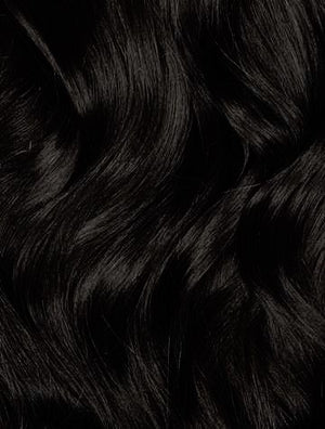 "#1B OFF BLACK- TOPPERS (10"") - Natural Curls"
