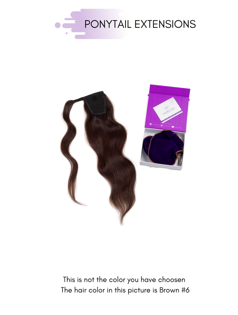 #1 NATURAL BLACK - PONYTAIL