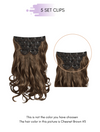 CLIP INS - DARK BROWN (#2)
