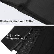 Breathable Odell Cotton Chest Binder-Black