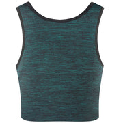 Breathable Yoga Cotton Elastic Band Colors Chest Binder-Green