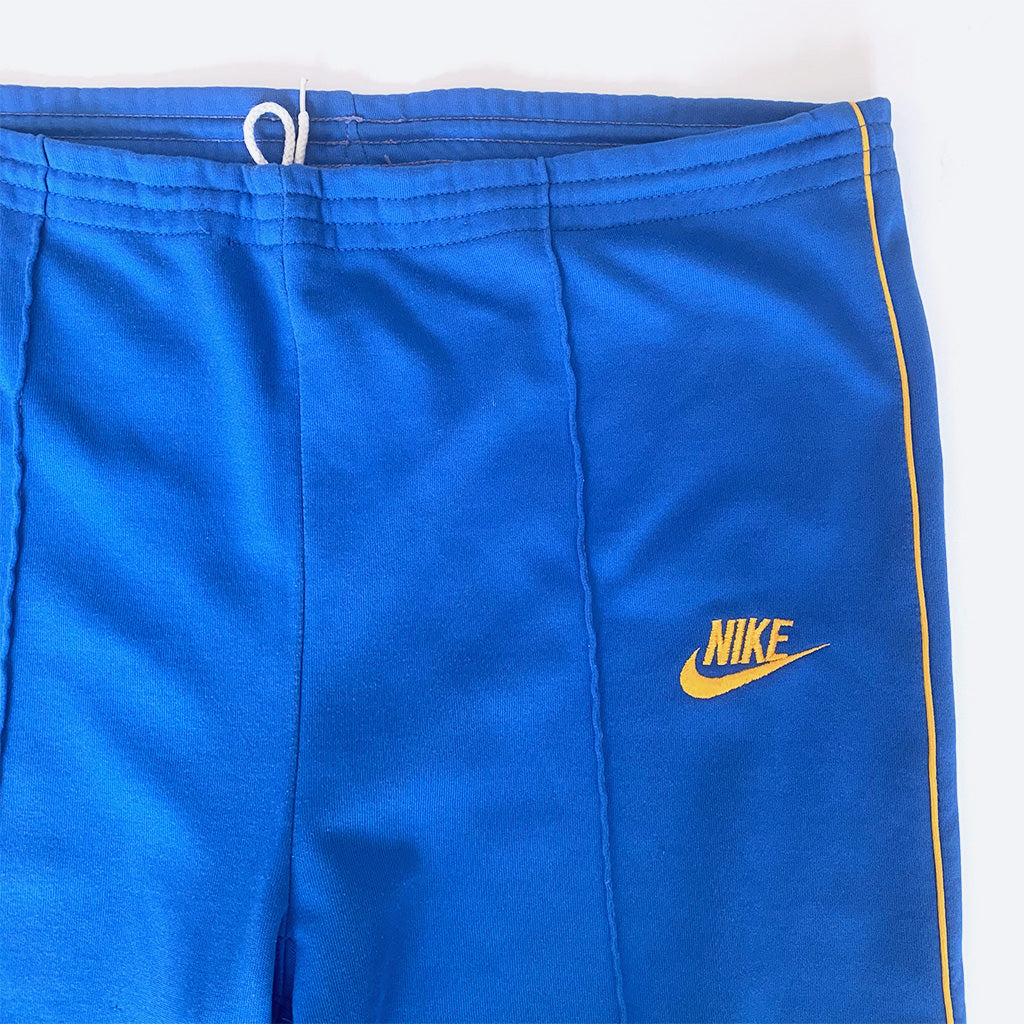 80's Nike Blue & Yellow Track Suit Set
