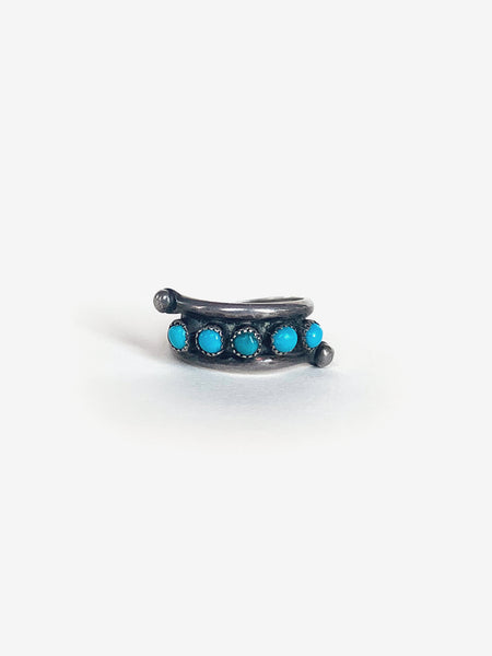 Five Piece Turquoise Ring
