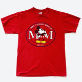 90's Mickey Mouse Walt Disney World Red T Shirt