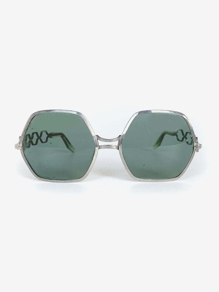 70's Metal Frame Sunglasses