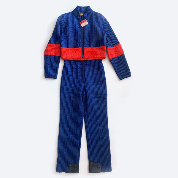 70's Ski Jumpsuit & Jacket Set