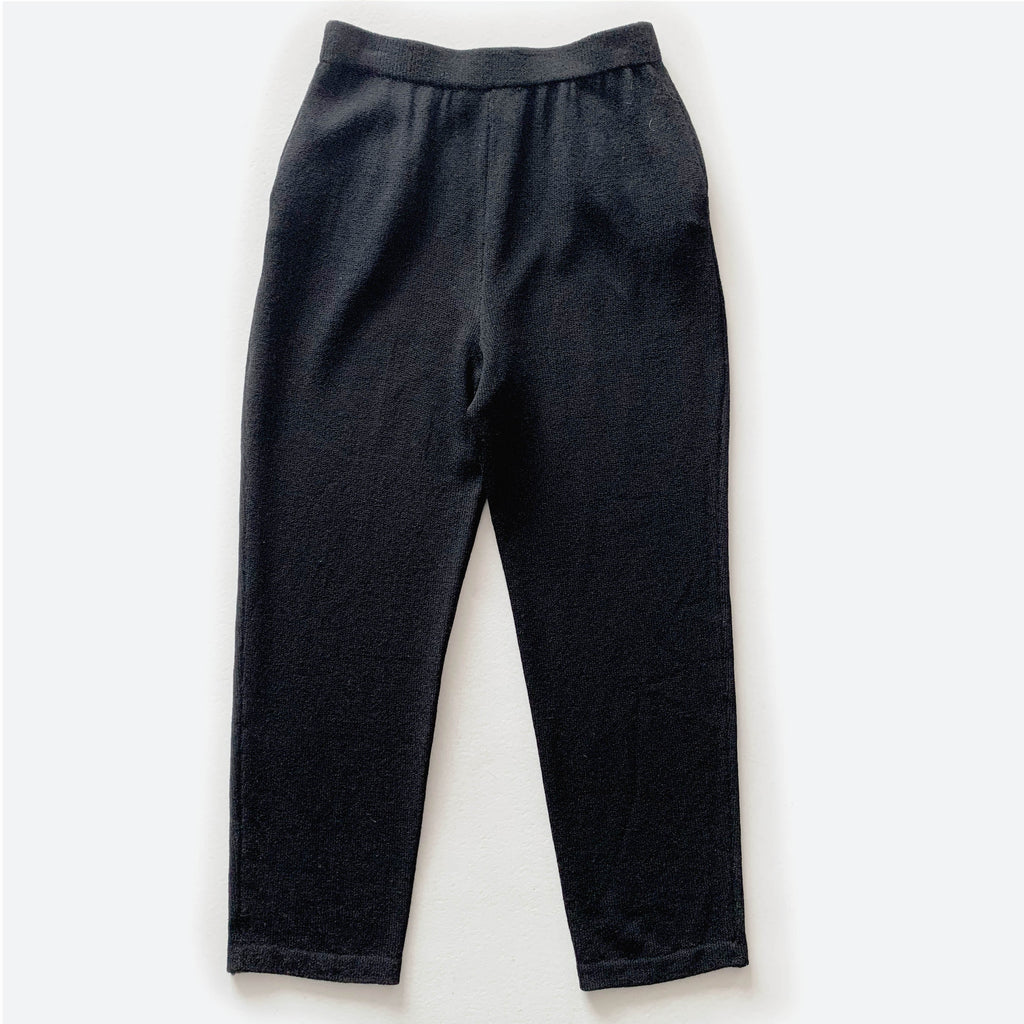Black St. John Knit Pants