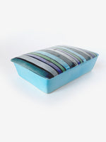 Blue Painted Ceramic Box