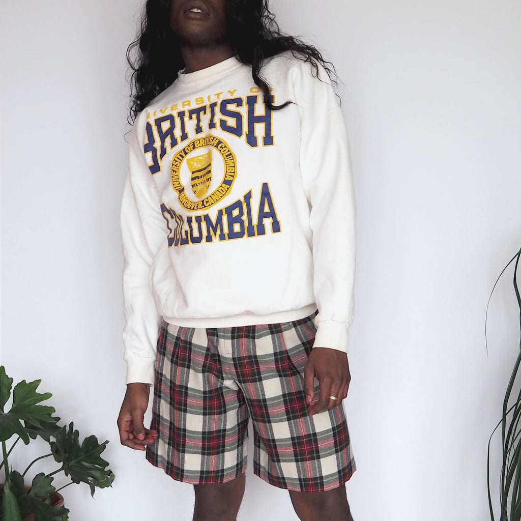 White University of British Colombia Sweatshirt
