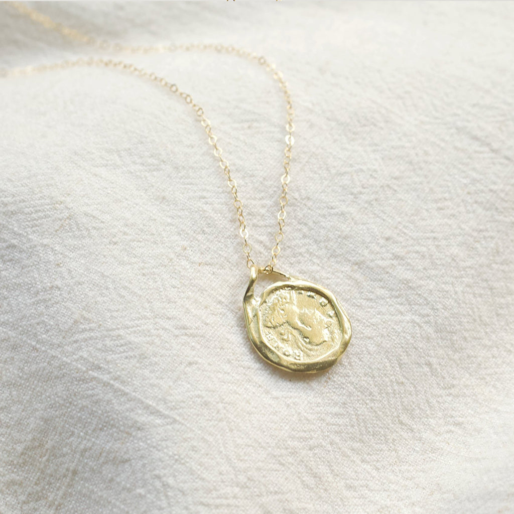 Roman Coin Necklace