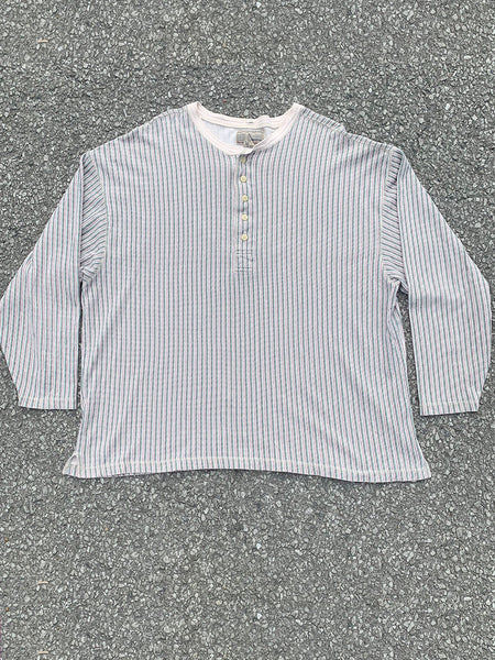 Abercrombie & Fitch Striped Henley
