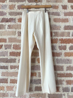 70's Cream Wool Pants