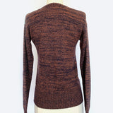 70s Faded Glory Earthtone V-Neck Sweater