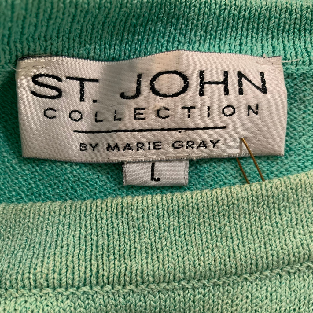 80's Aqua St. John Knit Sweater
