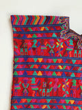 Nebaj Intricate Red & Purple Huipil