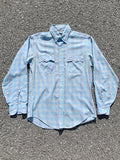 Levi's Pastel Plaid Long Sleeve Button Up
