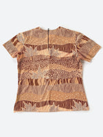 Earth Tone Patterned Shirt