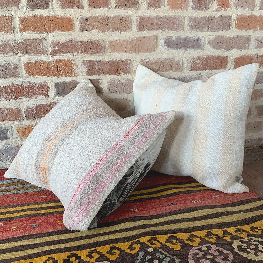 Turkish Kilim Rug Pillows