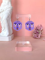 Noctiluca Face Earrings