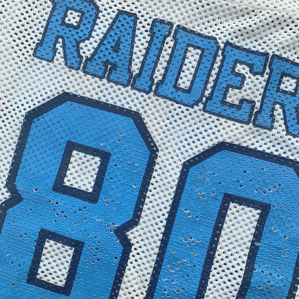 "Raider's ""80"" Football Crop Top"