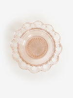 Rose Glass Jewelry Dishes