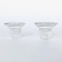 Glass Round Candle Holders