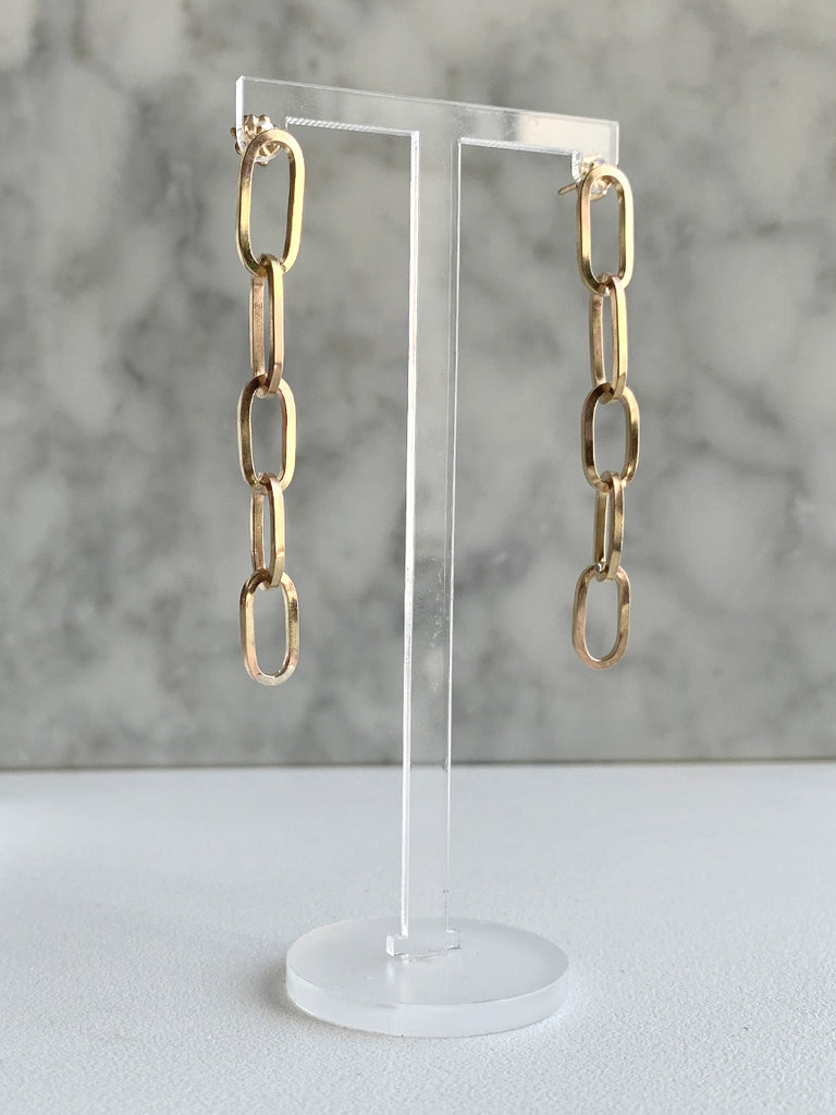 Thora Ford Chain Link Earrings