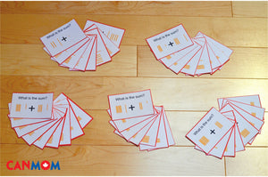 Montessori regrouping addition command cards / Montessori golden bead system task cards