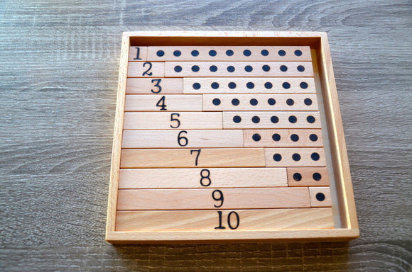 Montessori personalized math learning number puzzle / Preschool Math learning puzzle / make 10 wooden toy / personalized kids gift