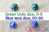 Double digits number learning Montessori bead Set