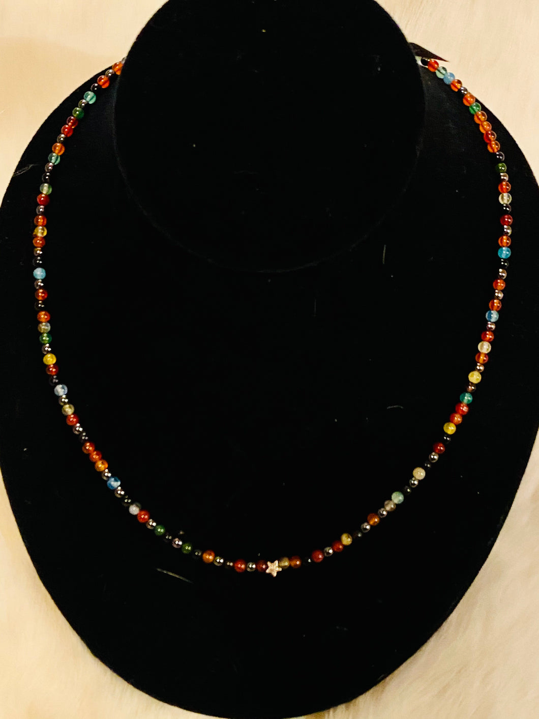 agate _choker_multicoloured_