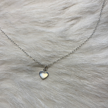 Load image into Gallery viewer, Feelin the love tiny heart necklace