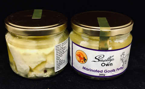 COVID-19 SALE - Smelly's Own - Goat Fetta with Herb & Garlic