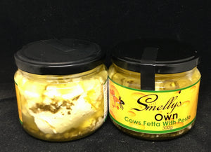 COVID-19 SALE - Smelly's Own - Cow Fetta with Pesto