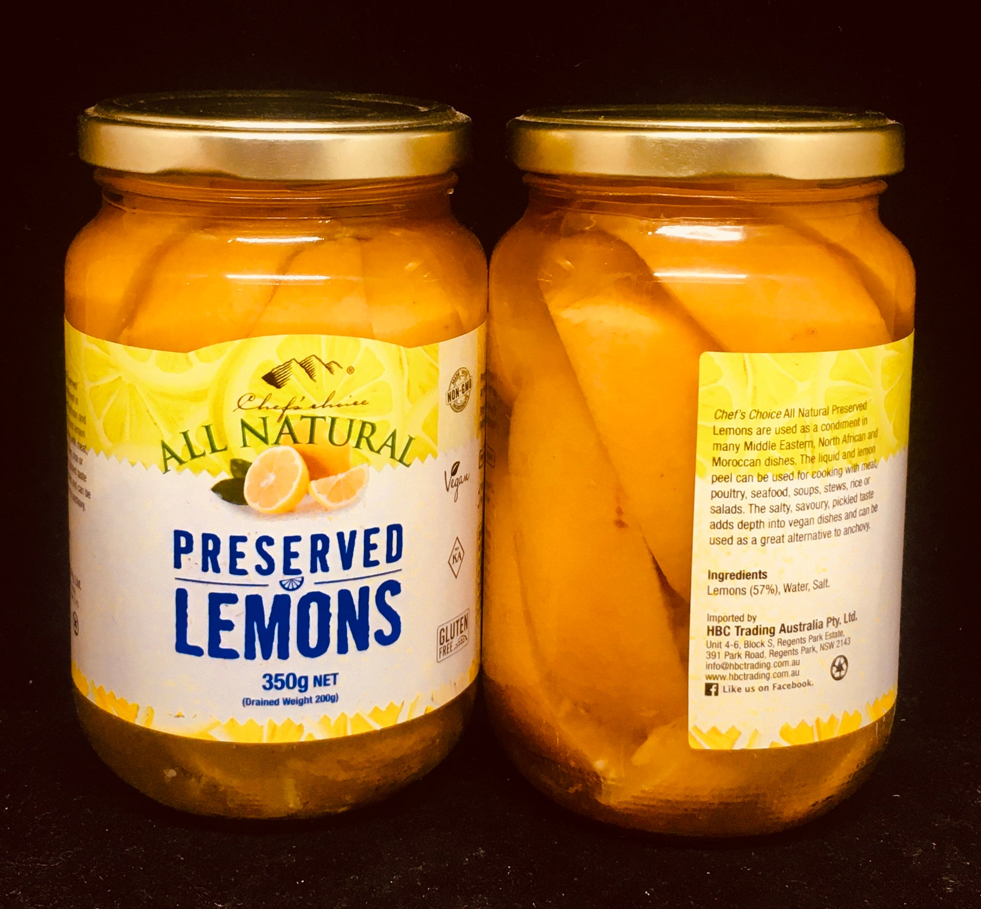 All Natural - Preserved Lemons