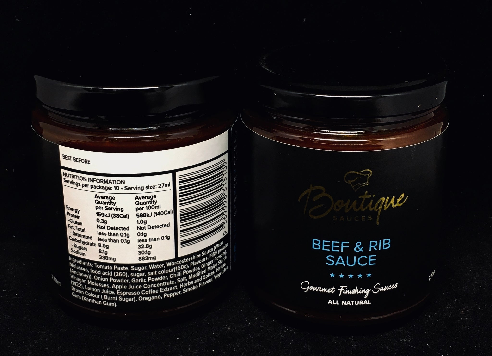 Boutique Sauces - Beef & Rib