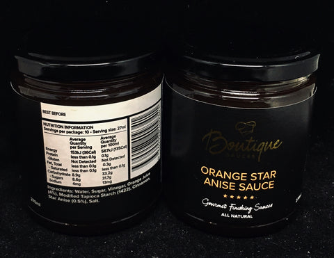 Boutique Sauces - Orange Star Anise