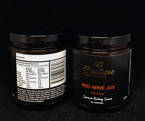Boutique Sauces - Red Wine Jus